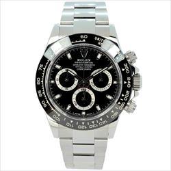 Rolex 40mm Daytona 116500LN Black SS Oyster Watch Only