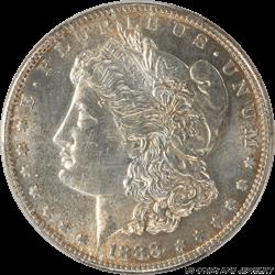 1888-S Morgan Silver Dollar PCGS MS62