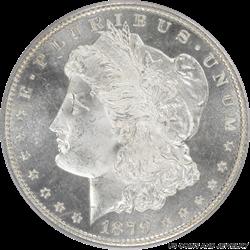 1879-S Morgan Silver Dollar PCGS MS-65