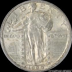 1929 Standing Liberty Quarter Blast White PCGS MS 64 FH