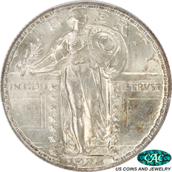 1928-D Standing Liberty Quarter PCGS and CAC MS66