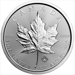 1oz Silver Maple Leaf (Online Only) -Assorted Years-