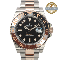 Rolex 40mm GMT-Master II 126711CHNR Rootbeer TT SS and 18K RG With Box and 2020 Card