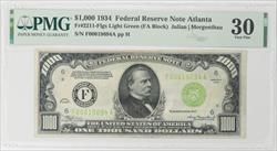 1934 $1000 FRN PMG VF 30 FR# 2211-F SN F00019694A