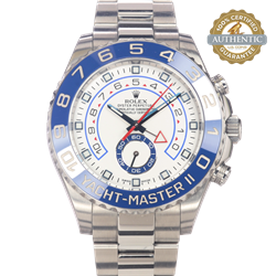 Rolex 44mm Yacht-Master II Ref/116680 Watch and Card