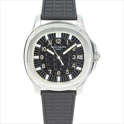 Patek Philippe 36mm Aquanaut 5066A SS Black Dial Watch Only