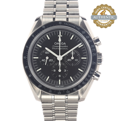 Omega 42mm Speedmaster Professional 3861 Movement Box and Papers  Includes Spare Leather Strap