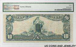 1902 TheFNB of Floresville Texas $10 National Currency CH#6320 $10 PMG