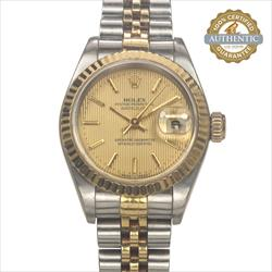 Rolex 26mm DateJust 69173 TT SS and 18K YG Jubilee Watch Only