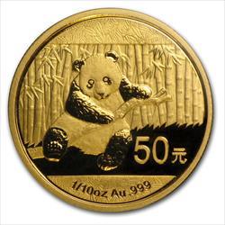 1/10 GOLD PANDA