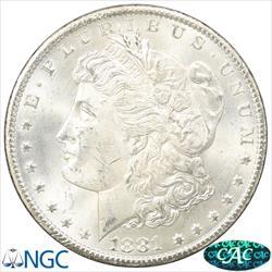 GSA 1881-CC  Morgan Silver Dollar NGC MS64