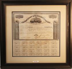 TEXIAN LOAN ONE MILLION DOLLARS @ 8% JANUARY 1, 1862