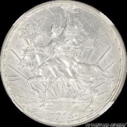 Mexico 1913 Caballito Peso Silver NGC AU Details Sharp High Detailed Coin