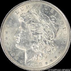 1898-S Morgan Silver Dollar PCGS MS61
