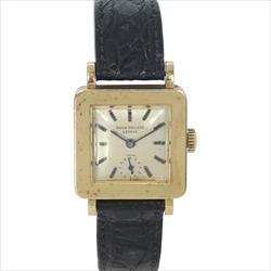 Vintage 26mm Patek Philippe 18k Gold Square Watch only