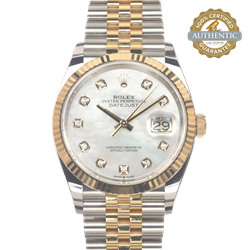 Rolex 36mm Datejust Ref/126233 Box and Card