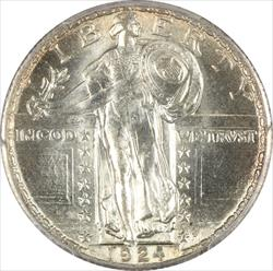 1924 Standing Liberty PCGS MS65FH