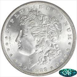 1888 Morgan Silver Dollar PCGS MS65+