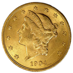 #SPECIAL $20 Liberty XF-AU (RANDOM YEARS GOOD MIX OF 70'S & 80'S)