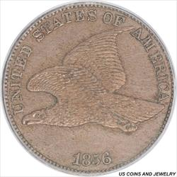 1856 Flying Eagle Cent PCGS PR62  Mintage of 1500
