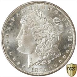 1880-S Morgan Silver Dollar PCGS MS68 Frosty White PQ+++ Coin