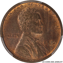 1910-S Lincoln Wheat Cent PCGS MS64RB Nice Original Early Lincoln Cent