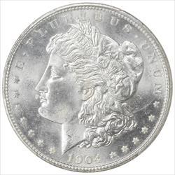 1904-O Morgan Silver Dollar PCGS MS 65 Frosty GEM BU