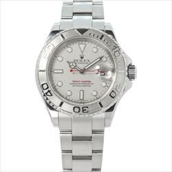 Rolex 40mm Yachtmaster 16622 Platinum With Box and Card