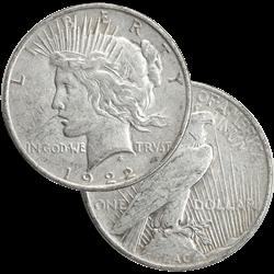 Silver PEACE Dollars  Low Premium