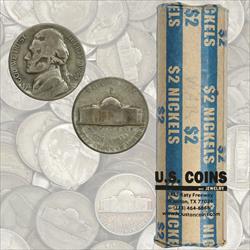 Roll of Jefferson War Nickels