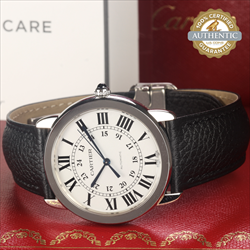 Cartier Ronde Solo Ref/WSRN0021 Box and Card