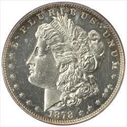 1878 8TF Morgan Silver Dollar PCGS PR61 Proof CAM