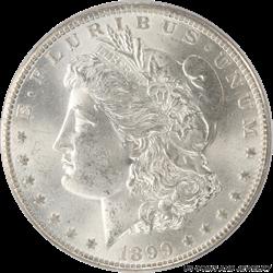 1899-O Morgan Silver Dollar PCGS MS64