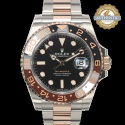 Rolex 40mm GMT Master II Ref/126711CHNR Watch and Card