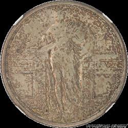1917-D Type 1 Standing Liberty Quarter NGC AU55 Nice Original Patina