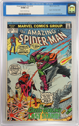 July 1973 Amazing Spider-Man #122 CGC 9.0  Death of the Green Goblin