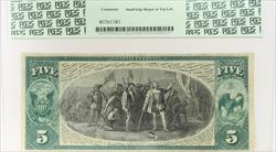 1875 $5 TGCNB CARROLLTON IL National Currency PCGS