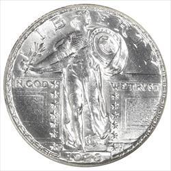 1928-D Standing Liberty Quarter NGC MS64