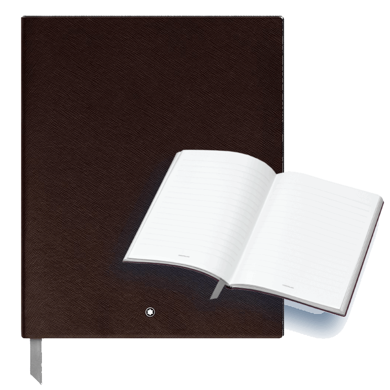 Mont Blanc Notebook - Large - Brown