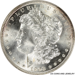 1903 P Morgan Silver Dollar PCGS MS 66