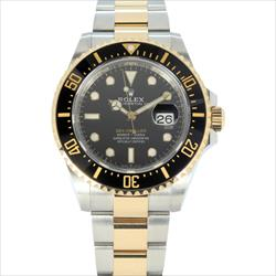 Rolex 43mm Sea Dweller 126603 TT 18K YG and SS  w/Box and Papers