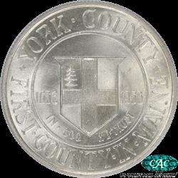 1936 York Half Dollar Commemorative PCGS MS-66 CAC