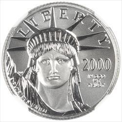 2000 American Platinum Eagle NCG MS70