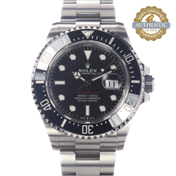 Rolex 43mm Seadweller 126600 Complete with 2020 Card Box and tags