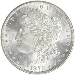 1879 Morgan Silver Dollar PCGS MS64 Frosty White