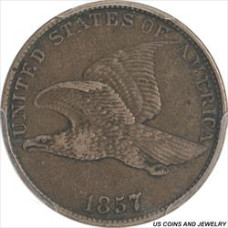 1857 Flying Eagle Cent PCGS
