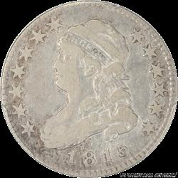 1815 Capped Bust Quarter PCGS F 15