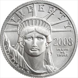1/4 OZ PLATINUM EAGLE RANDOM DATE