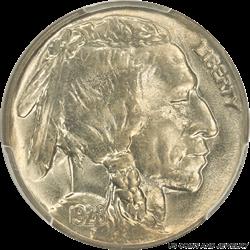 1928-P Buffalo Nickel PCGS MS66 - Nice White Coin