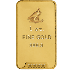 1 OZ GOLD BAR Chosen From available Stock